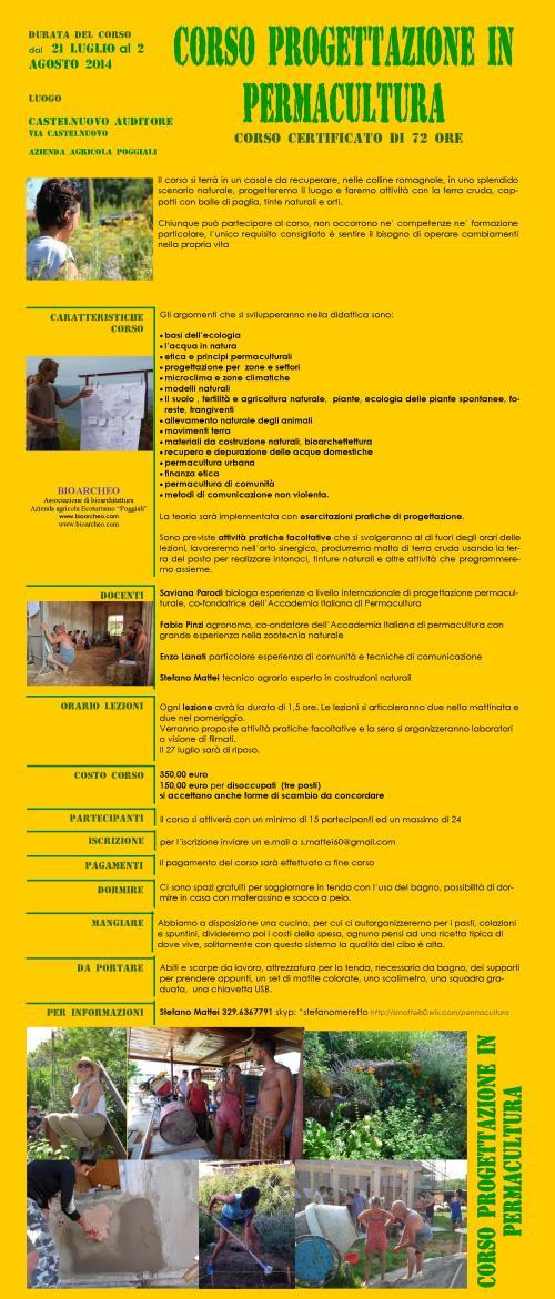 locandina  permacultura auditore